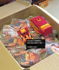 No Box Masterpiece MP-09 Rodimus Convoy With Trailer Upgraded Version