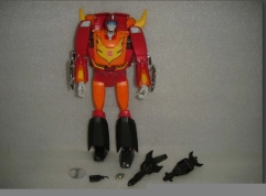 No Box MP-09 Rodimus Figure and Weapons Only - No Trailer Upgraded Version