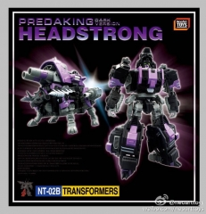 Neoart Toys PREDAKING HEADSTRONG NT-02B Dark Version