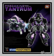 Neoart Toys PREDAKING TANTRUM NT-01B Dark Version