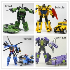 Free Shipping Machine Boy Combaticons 4 figures set