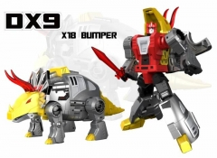 DX9 TOYS - WAR IN POCKET - X18 BUMPER