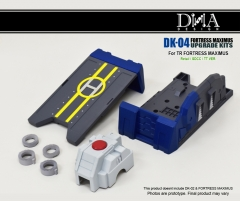 DNA DESIGN - DK-04 - FORTRESS MAXIMUS - FOOT UPGRADE KIT