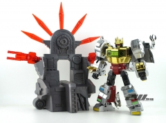 ZhanJiang D01 DINOSAUR KING Grimlock WITH THRONE