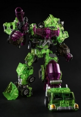GENERATION TOY - GRAVITY BUILDER - GT-01GS - GREEN SHADOW - SET OF 6 FIGURES