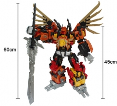 NO BOX JINBAO Version MMC FERAL REX Oversized Set Of 6
