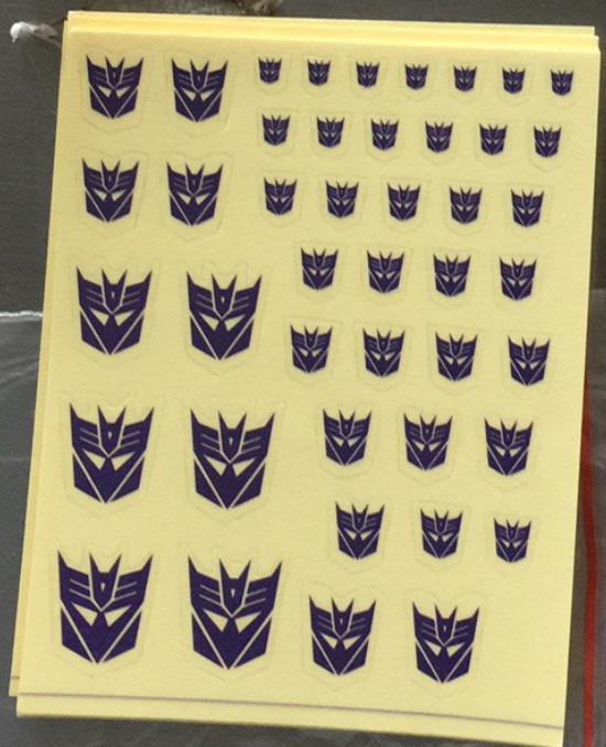 Sticker for Decepticons
