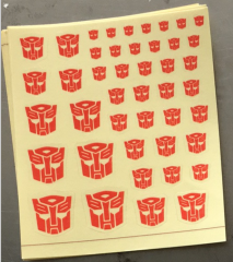 Sticker for Autobots