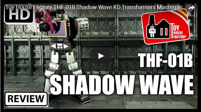 Toy House Factory THF-01B Shadow Wave KO Transformers Masterpiece Soundblaster