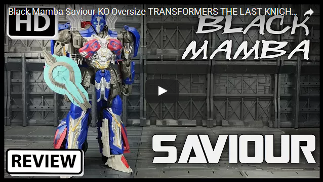 Black Mamba Saviour KO Oversize TRANSFORMERS THE LAST KNIGHT Voyager OPTIMUS PRIME -