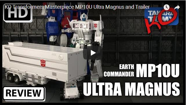 KO MP-10U Ultra Magnus WITH Trailer