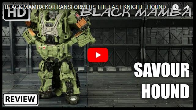 BLACK MAMBA KO TRANSFORMERS THE LAST KNIGHT - HOUND -
