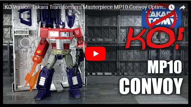 KO MP-10 - MASTERPIECE OPTIMUS PRIME