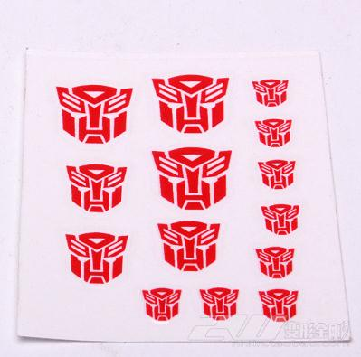 Decal sticker for Autobots 3