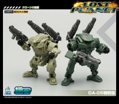 MechFansToys Lost Planet Powered-suit DA04 & DA05 set