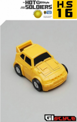 Hot Soldiers - HS15 HS16 - Mini Car Giftset