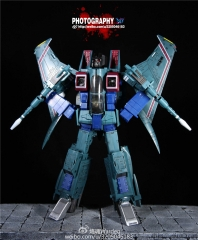 Free shipping! Robot Hero CG02 Oversized Starscream (Green)reissue
