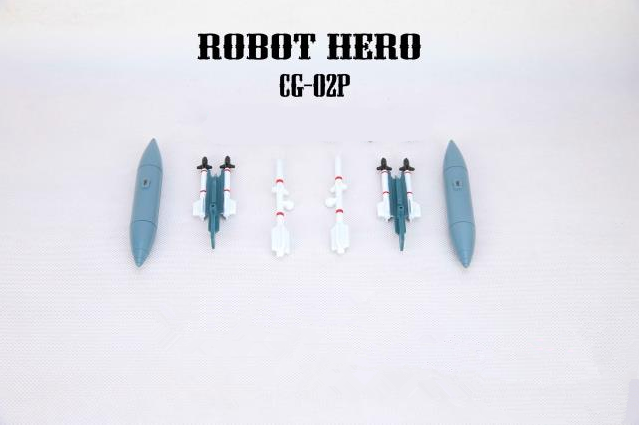 Free shipping! Robot Hero CG-02P Upgrade Set For Oversized Starscream