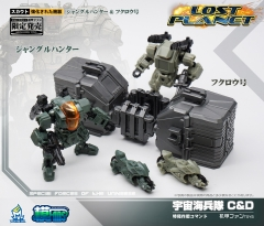 MechFansToys Lost Planet Powered-suit DA08C & 08D set