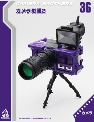(Deposit only) MechFansToys MF-36 Camera brothers