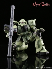 Metal Soldier 1/100 MS01 ZAKUII Green Chogokin Metal Bulid