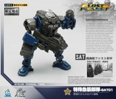 MechFansToys Special Assault Team 01&02&03