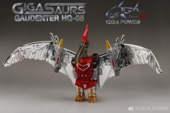 Gigapower HQ-05R Gaudenter Chrome Version (Red)