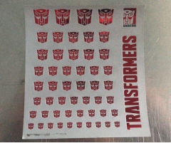 New sticker for Autobots