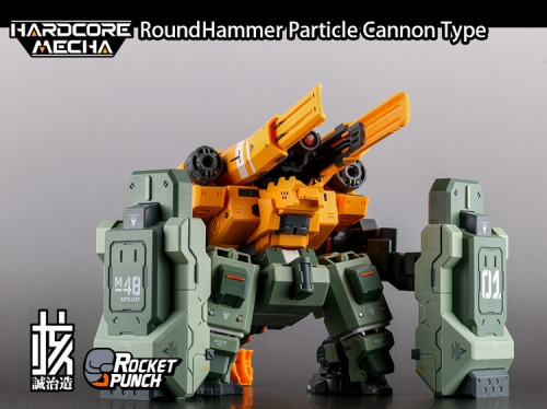 Hardcore Mecha - RoundHammer Siege/Particle Cannon Type