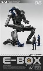 MechFansToys Special Assault Team MFT SAT06 Police captain