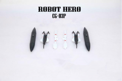 Free shipping! Robot Hero CG-03P Upgrade Set For Oversized Skywarp