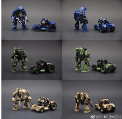 Rihio Multiabyss MM002 V-Link Mecha Defense and Engineering Set B