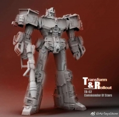 [Deposit only] TRANFORM AND ROLLOUT TR-02 Commander of stars