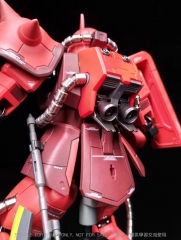 Metal Soldier 1/100 MS02 ZAKUII Red Chogokin Metal Bulid