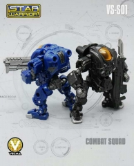 MechFansToys MFT Vecma Toys VS-S01 Combat Squad Soldier & Raynor Set of 2