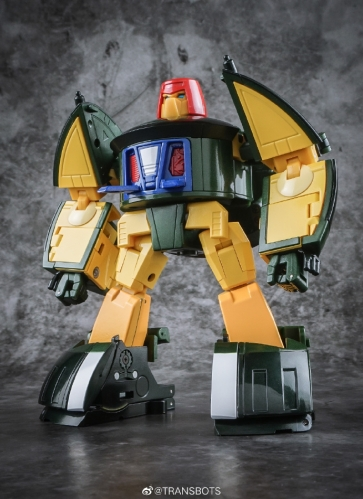 X-TRANSBOTS MM-9+ KLAATU METALLIC VERSION