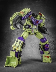 Toyworld TW-C07P Constructor Devastator Metallic Painting Version Full Set of 6 Figures w/ LED