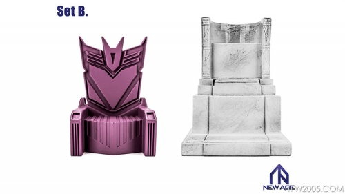 [Deposit only] NewAge Core Scenery Tyrant Throne & Linco ln's Ceremonial Chair Set B
