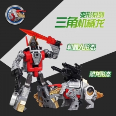 Black Mmba H6002-7B Dino Force Robot Force Volcanicus Combiner Set of 5