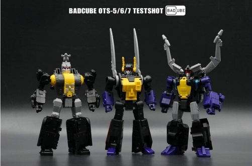 [Deposit only] BadCube OTS-5/6/7 - Evil Bug Corps Set of 3 2019 reissue