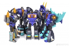 DX9 TOYS - WAR IN POCKET - Dino Set of 5 Black ver.