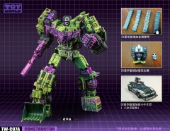 TOYWORLD - TW-C07A CONSTRUCTOR CELL SHADED DELUXE EDITION - FULL SET OF 6 FIGURES - Limited Edition