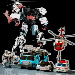YES MODEL GUARDIAN COMBINER FULL SET OF 5