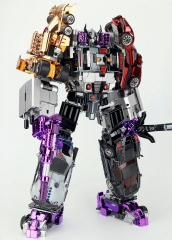 TRANSFORMMISSION - TFM - HAVOC - CAR COMBINER SET OF 5 CHROME VER.