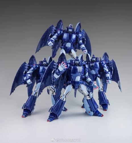 [DEPOSIT ONLY] XTRANSBOTS MX-2 SWARM TEAM SET OF 3 CARTOON VERSION