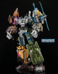 WARBOTRON WB01 COMBINER SET OF 5 FIGURES IN GIFTSET PACKAGING