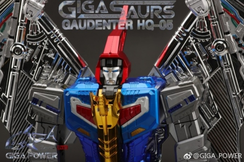 [DEPOSIT ONLY] GIGAPWER HQ-05R GAUDENTER CHROME VERSION (BLUE)