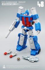 [DEPOSIT ONLY]MECH FANS TOYS CITY COMMANDER IMPROVISATION MF-48 2021 REISSUE