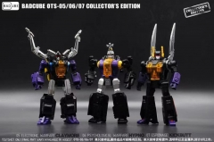 [DEPOSIT ONLY] BADCUBE OTS-5/6/7 - EVIEL BUG CORPS SET OF 3 2021 REISSUE